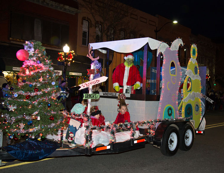 "Jingle & Mingle ""Light Up The Night"" Parade"